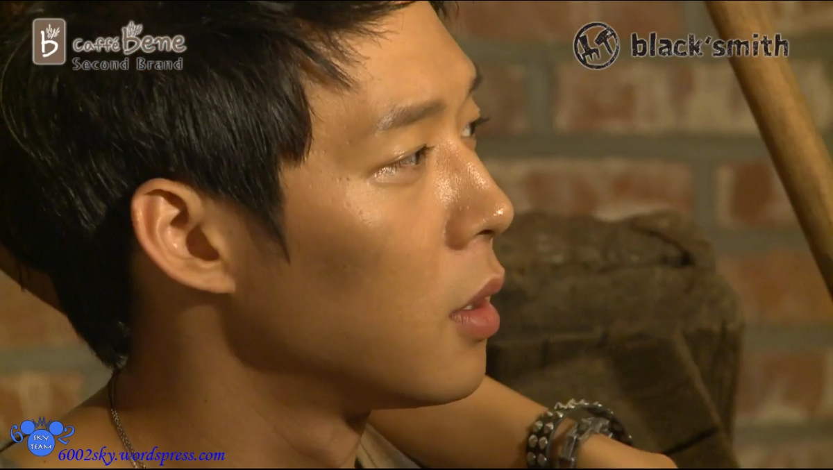111102 Yoochun from Black Smith Making Vid